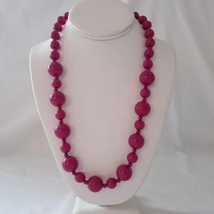 Chunky Beaded Necklace Chunky Statement Multi Size